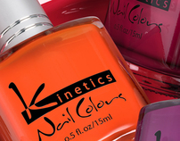 3D Go Glossy Nail Colours - Advertising Imagery