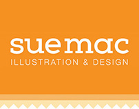 Portfolio Website Design - Sue Macartney Illustration