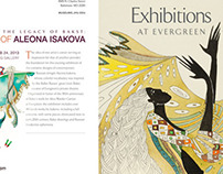 Exhibition together with the Great Leon Bakst.