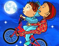 Leo and the Windy Day - children's book and iPad app