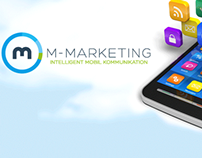 M-Marketing - Redesign of Logo and website.