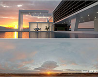 Free Sunset HDR Sky 2k