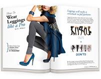 Magazine Spread - Fashion