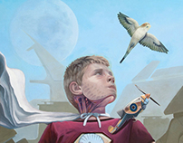 """The Automaton"", Oil on Canvas, 30"" x 24"", 2012"
