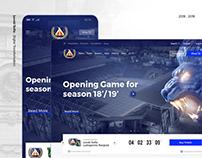 Levski Sofia | Redesign UI/UX