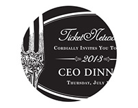 TN CEO Dinner Invitation & Menu
