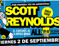 Posters SCOTT REYNOLDS  Sudamerica Tour 2016