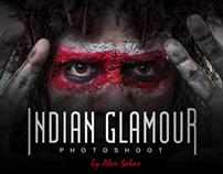 Indian Glamour Portrait by: Alex Salas