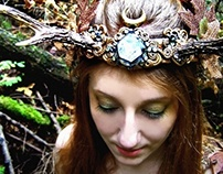 HARVEST MOON - Faerie Princess Antler Crown