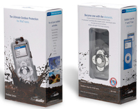 H2O Audio Outdoor Housing for iPod Packaging