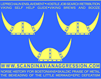 Scandinavian Aggression Promotional Sticker