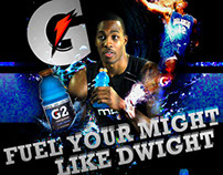 Dwight Howard Gatorade Magazine Advertisement