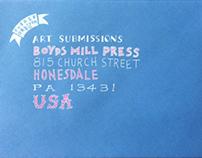 Envelope Boyd's Mill Press