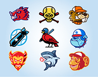 Baseball Boss (MMO) Customizable Team Icons
