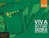 -Viva Skateboards- New t-shirt series 2013