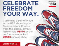 New Balance - Email Designs
