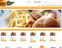 Burger Cart Opencart Theme Free