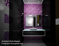 girly bath room