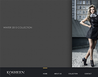 Kosheen Shoes Website