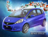 Honda Jazz 2011 launch microsite