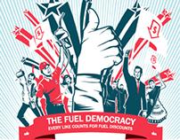 Caltex Fuel Democracy