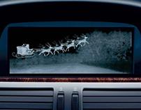 BMW Night Vision Christmas Card