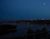 Warsaw by night