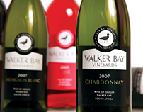 Walker Bay Vineyards Packaging