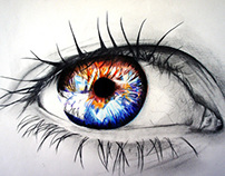 """Eye""_Pencil draw"
