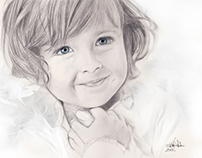 Child_pencil drawing