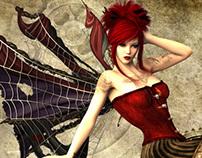 steampunk maiden