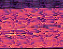 Visualising songs using colour #2