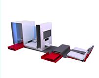 Концептуальный проект жилого интерьерного модуля