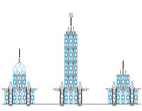 Interpretation of an Art Deco city