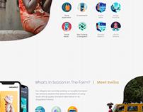 TechVillage Landing Page Design