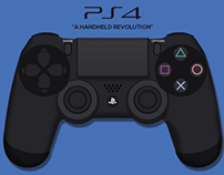 PlayStation 4: Controller Illustration