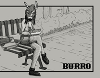 Burro Bags Ad Styleframes