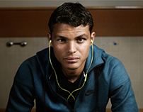 Skullcandy - Thiago Silva 2013 photo shoot