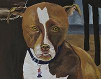 Frank acrylic on canvass