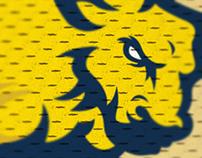 JCSU, sports logo redesign concept.