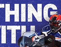 Yamaha Snowmobiles racing print