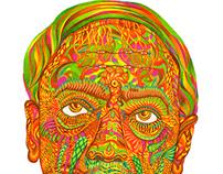 KRISHNAMURTI Portrait