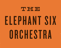 Elephant Six Orchestra Gig Poster