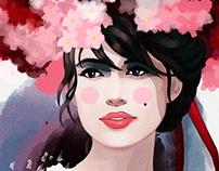 Иллюстрация для салона красоты