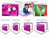 Click&Print - Web & GUI Design