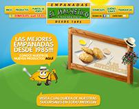 Empanadas El Machetico - Web Design