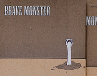 Brave Monster CD Packaging