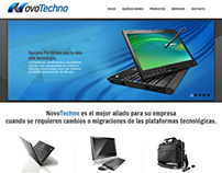 Novotechno - Web & Brand Design