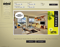 Umbral - Web Design