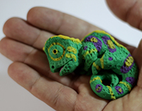 Chameleon - Clay